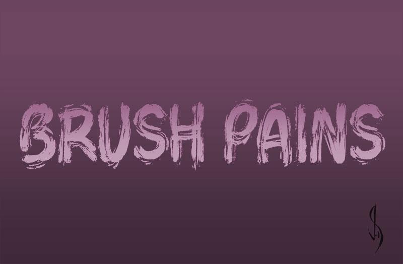 brush-pains