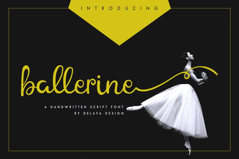 ballerine-script