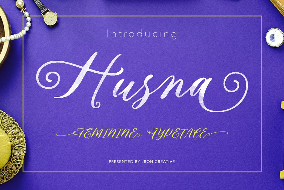 husna-script-feminine-typeface