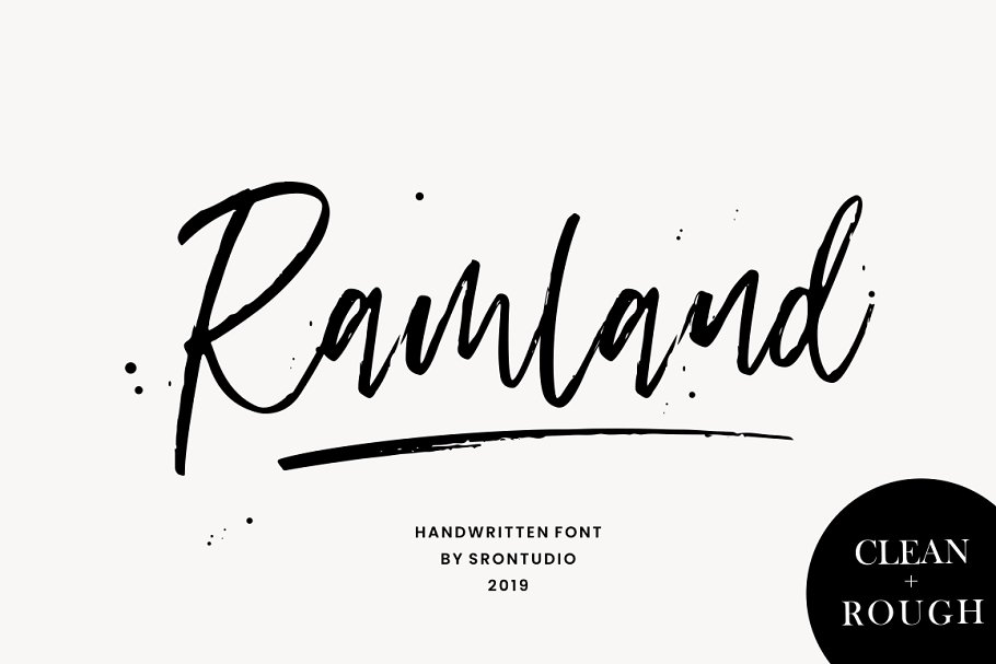 ramland-clean-rough-script