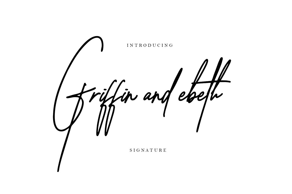 griffin-and-ebeth-font