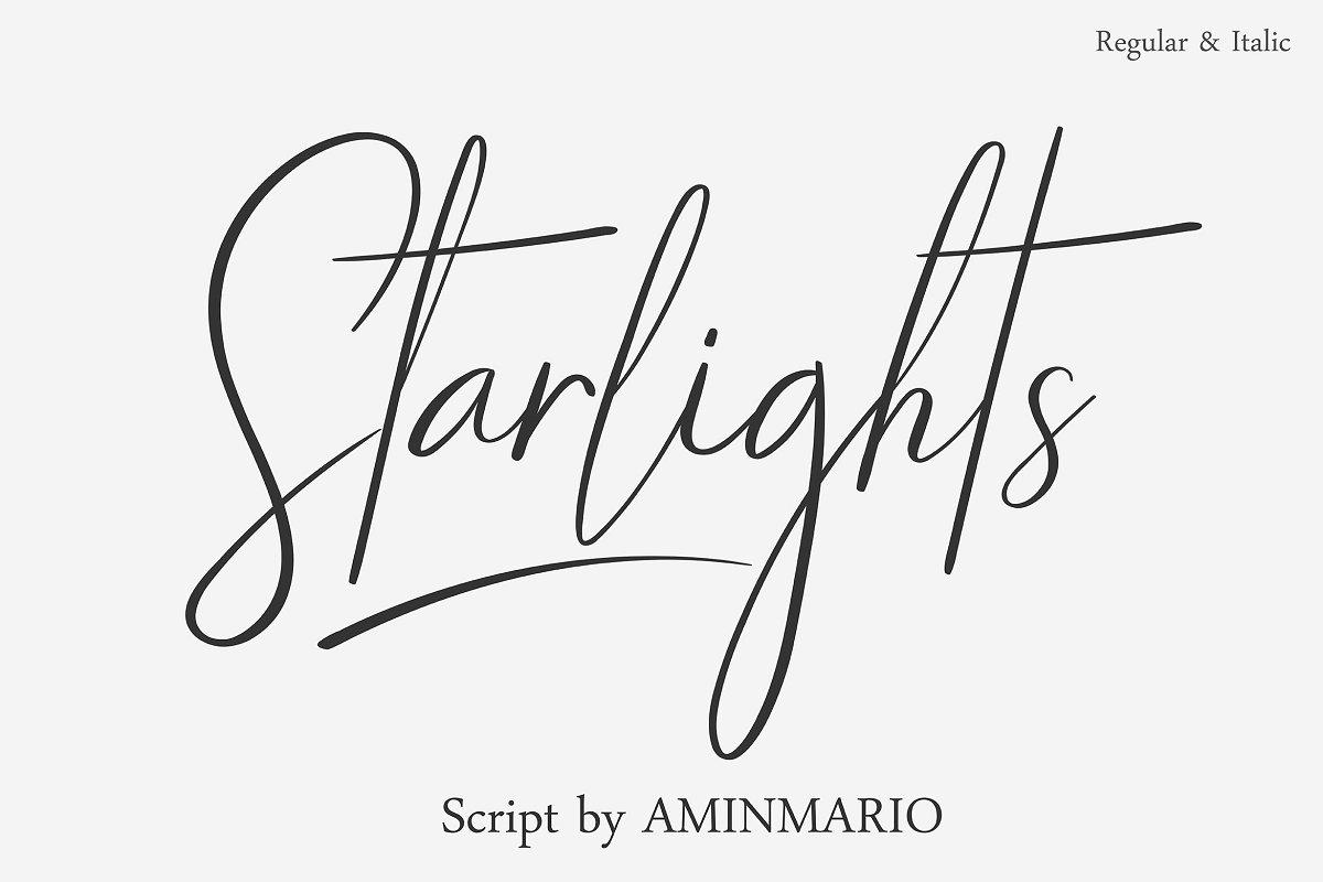starlights-a-classy-script