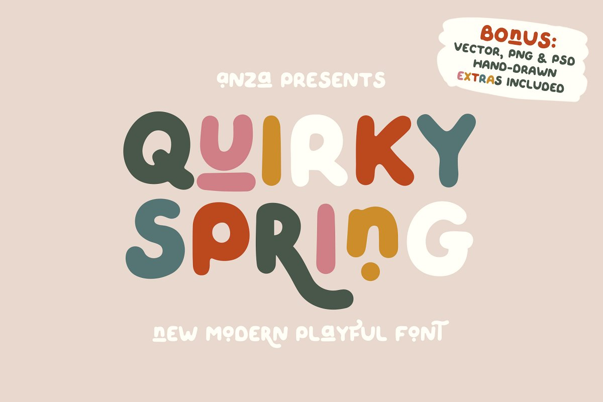 quirky-spring-playful-font-family
