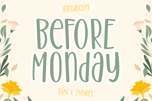 before-monday