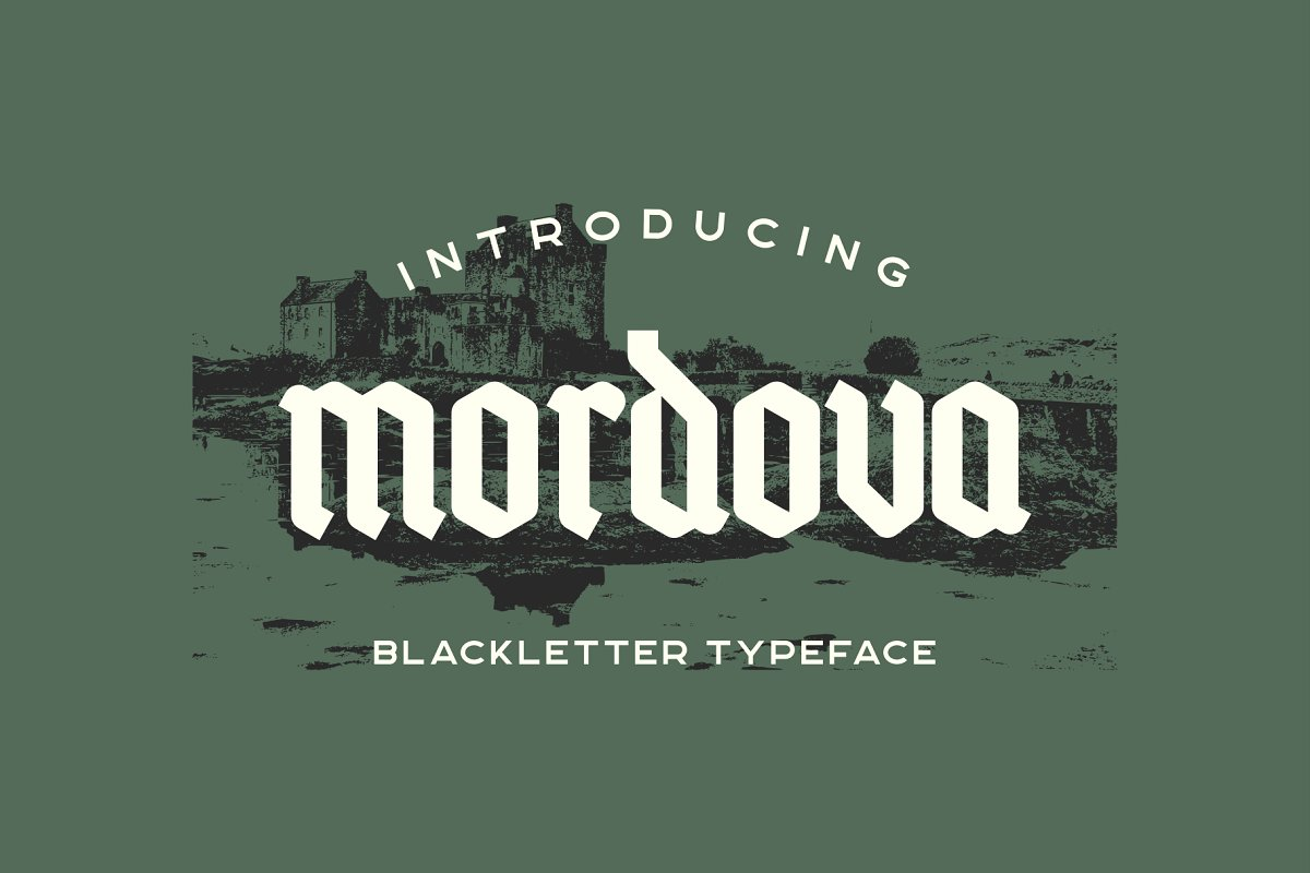 mordova-blackletter-typeface