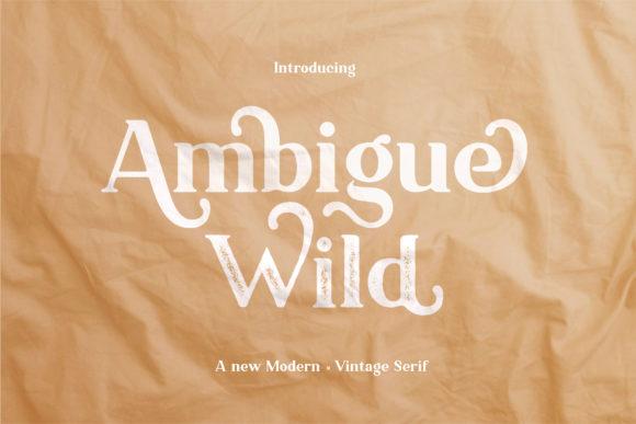 ambigue-wild