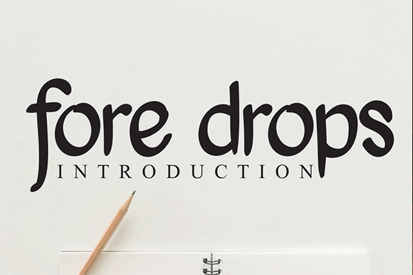 fore-drops