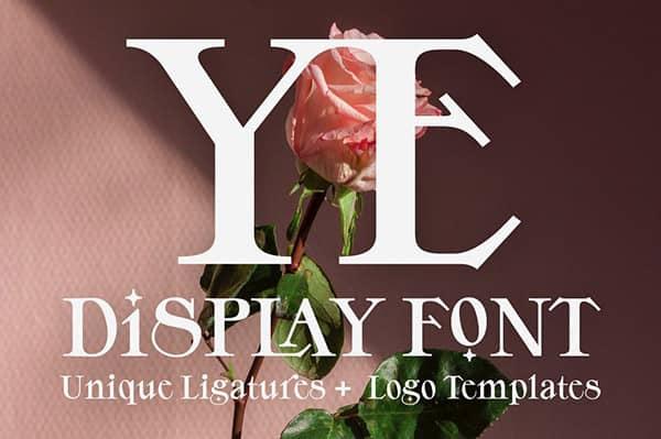 ye-bold-display-font