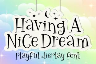 having-a-nice-dream