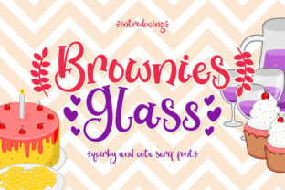 brownies-glass-font