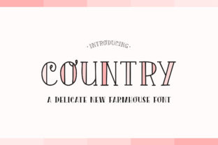 country-font
