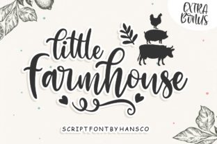 little-farmhouse-font