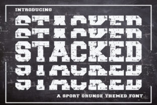 stacked-font
