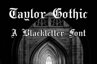 taylor-gothic-font