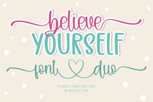 believe-yourself-font