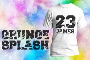 grunge-splash-font