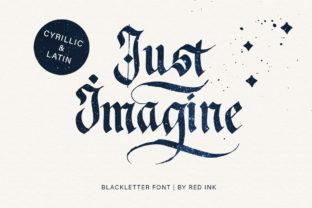 just-imagine-font