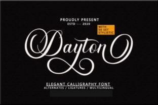 dayton-script-font