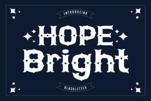 hope-bright-font