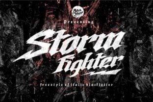 storm-fighter-font