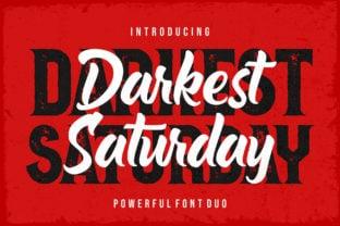 darkest-saturday-duo-font