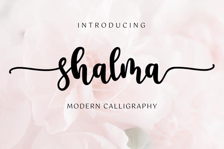 shalma-font