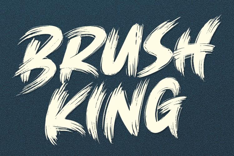 brush-king-font