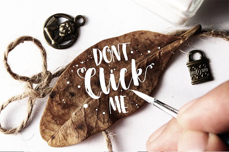 dont-click-me-font