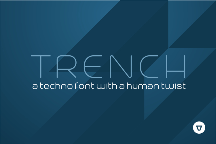trench-font