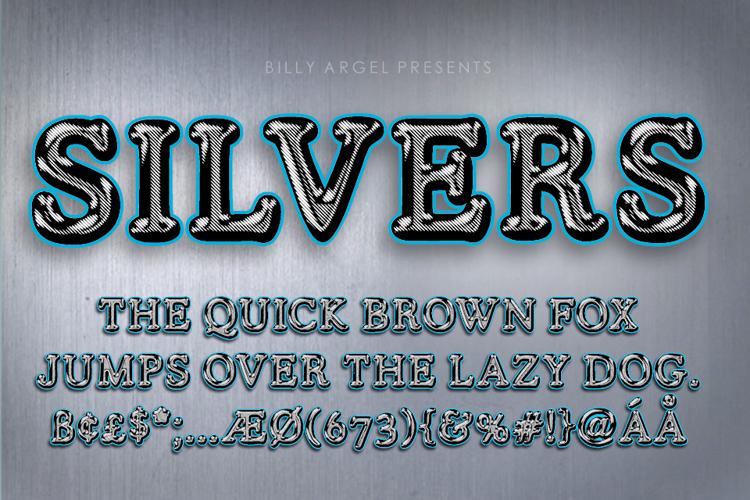 silvers-font