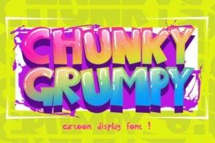 chunky-grumpy-font