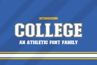 college-font