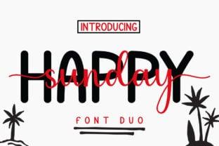 happy-sunday-font