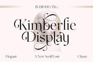 kimberlie-font