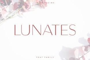 lunates-font