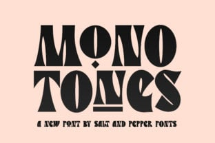 monotones-font