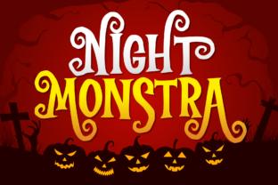 night-monstra-font