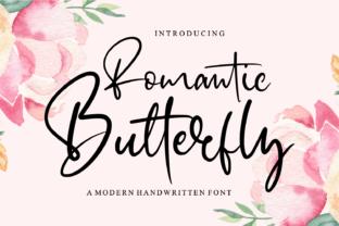romantic-butterfly-font