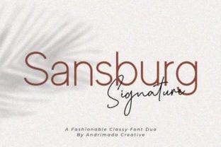 sansburg-font