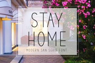 stay-home-font