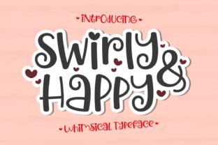 swirly-happy-font