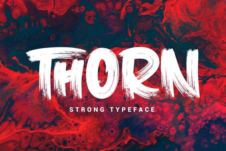 thorn-font