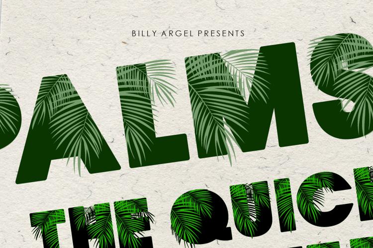 palmsprings-font