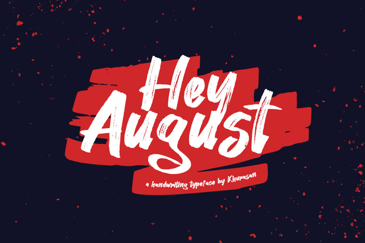 hey-august-font