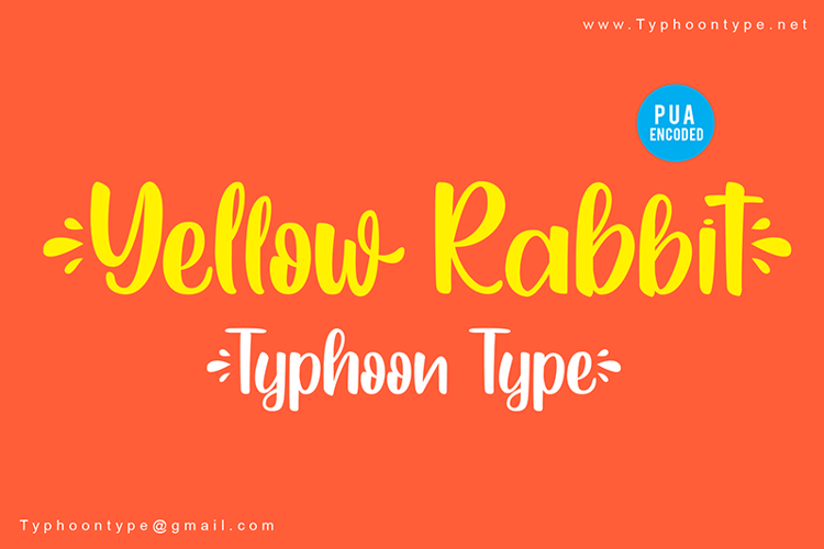 yellow-rabbit-font