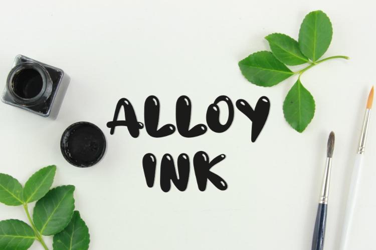 a-alloy-ink-font
