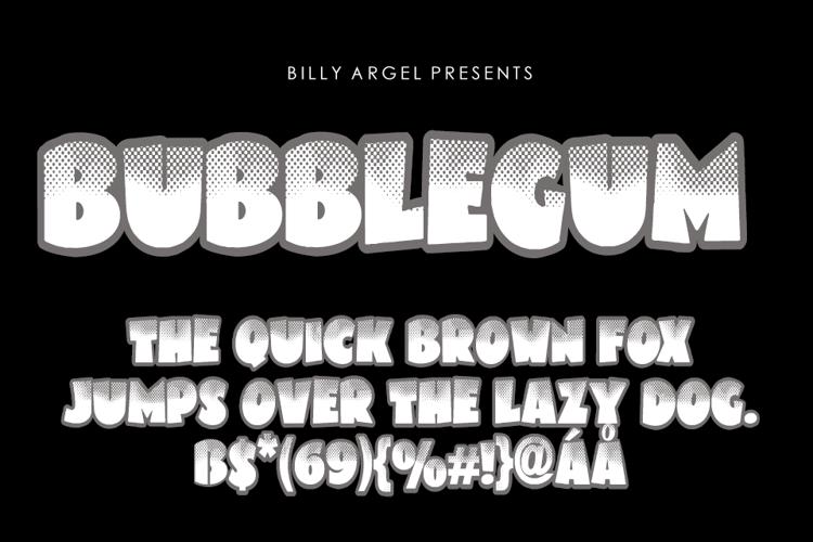 bubblegum-font