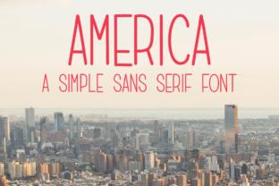 america-font