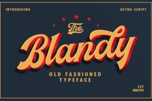 blandy-font