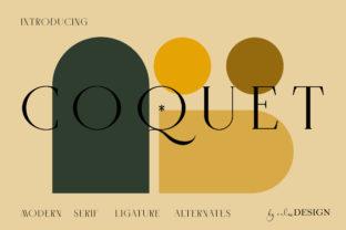 coquet-font